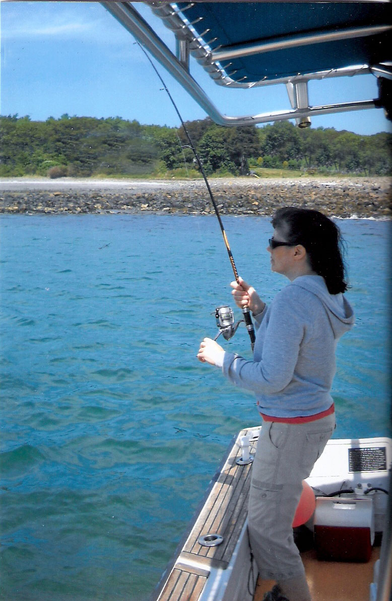 Maine saltwater fly fishing and light tackle guides for for Maine fly fishing